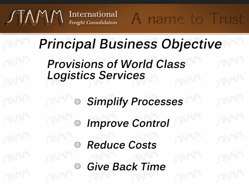 Principal-Business-Objective