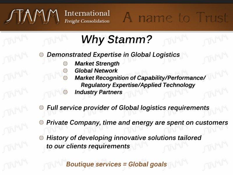 Why-Stamm?