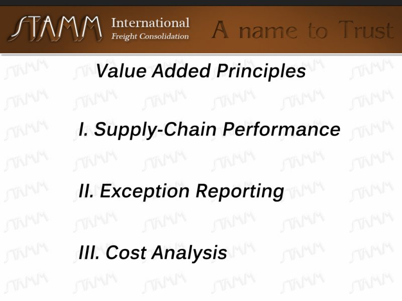 Value-Added-Principles