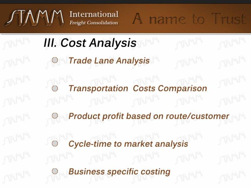 III-Cost-Analysis