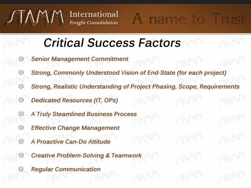 Critical-Success-Factors
